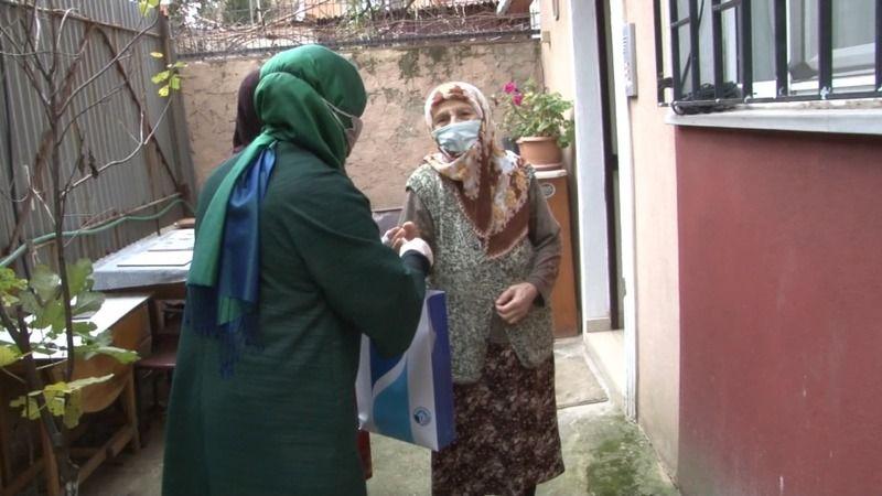Tuzla'da 65 Yaş Üstü Vatandaşlara Destek Sürüyor !