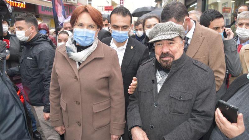 Akşener Kartal ve Tuzla'da Esnafı Dinledi