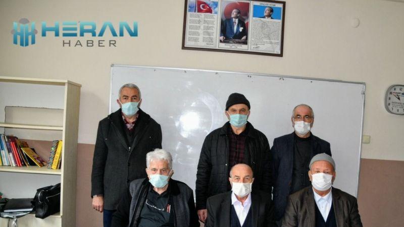 İçmeler Merkez Cami Derneğinde 3.kez Başkan Özkaya