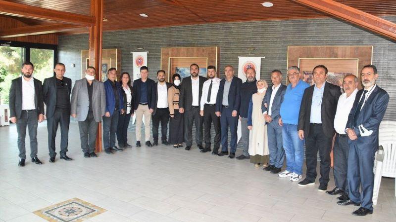 Tuzla Erzincanlılar Derneği Yeni Yönetimi Basınla Biraraya Geldi