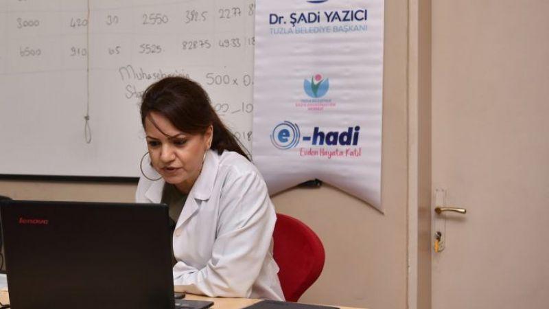 Tuzla'da Kadınlara Yönelik Online Eğitim Kursları Başladı