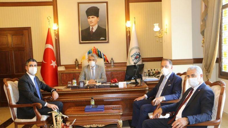 Başkan Yüksel'den Baba Ocağı Erzincan'a Ziyaret
