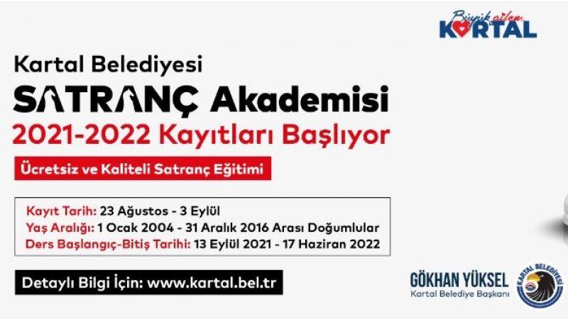 Kartal Belediyesi Satranç Akademisi 2021-2022 Kayıtları Başlıyor