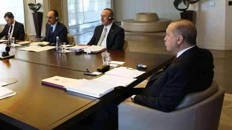 """Cumhurbaşkanı Erdoğan: """"Salgın sonrası dönem için hazırlık yapmalıyız"""""""