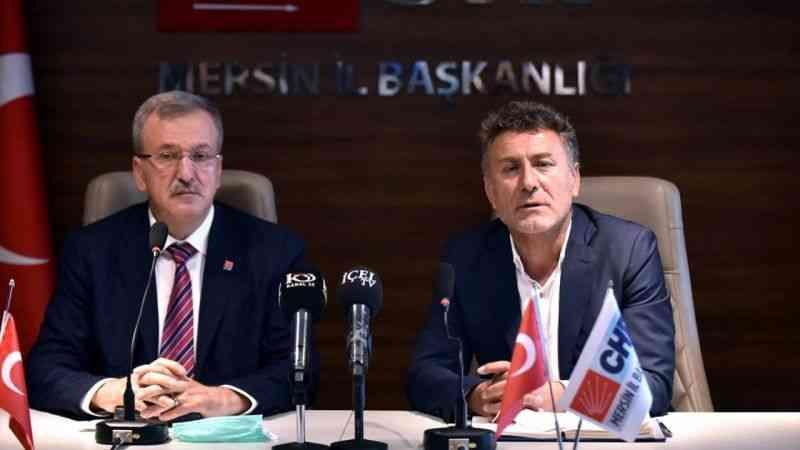 CHP Genel Başkan Yardımcısı Orhan Sarıbal, Mersin'de