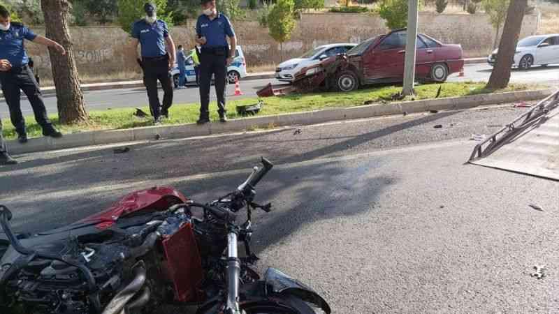 Kahramanmaraş'ta polis memuru trafik kazasında hayatını kaybetti