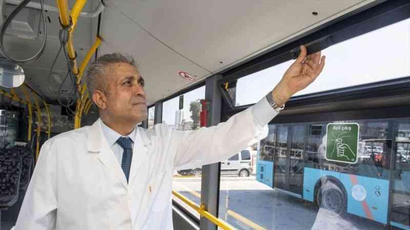 Mersin'de toplu ulaşım araçlarında klima açılmayacak