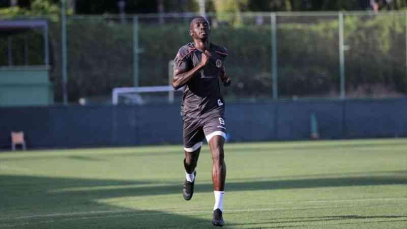 Alanyaspor'un en golcüsü Cisse takımının son 3 maçında 6 gol kaydetti
