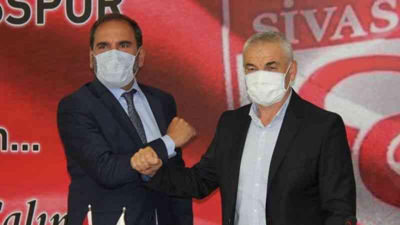 Rıza Çalımbay, 1 yıl daha Sivasspor'un başında olacak
