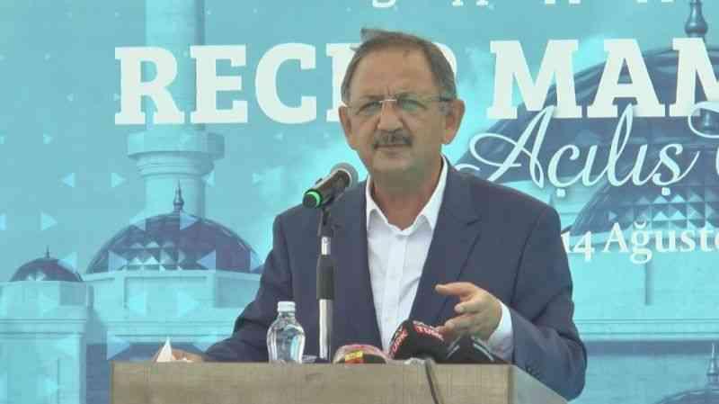 """Özhaseki: """"Akdeniz'de gemilerimizle Türk milletinin bağımsızlığını ilan ederiz"""""""
