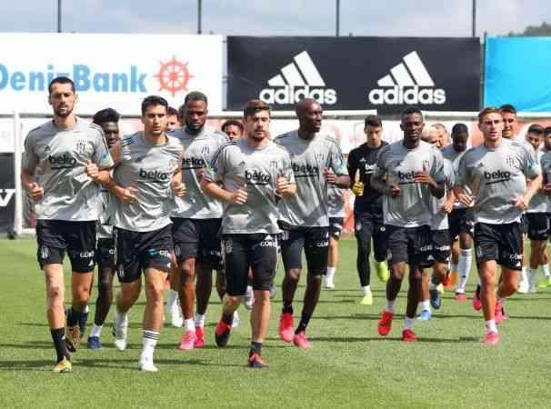 Beşiktaş'ta PAOK hazırlıkları başladı