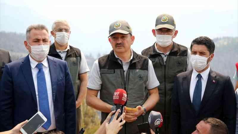 Tarım ve Orman Bakanı Pakdemirli'den, Adana'daki orman yanınına ilişkin açıklama: