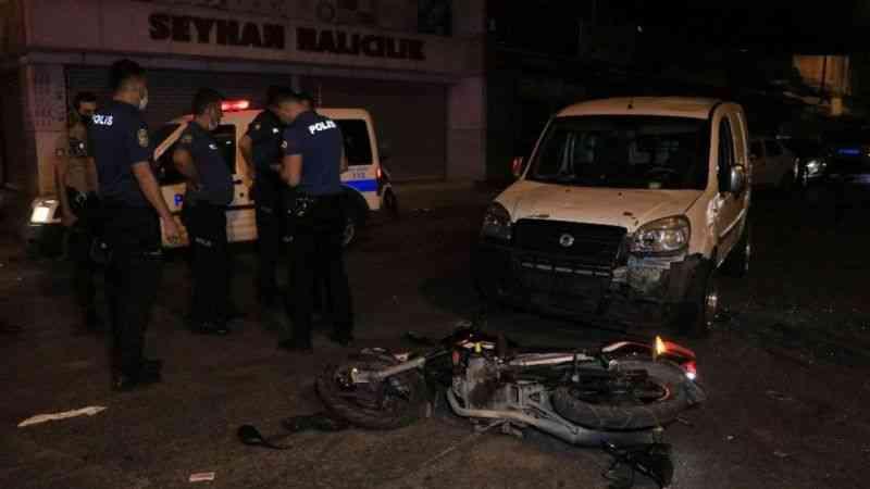 Yüzü maskeli iki kişi motosiklet ile gelip lokantaya silahlı saldırı düzenlendi