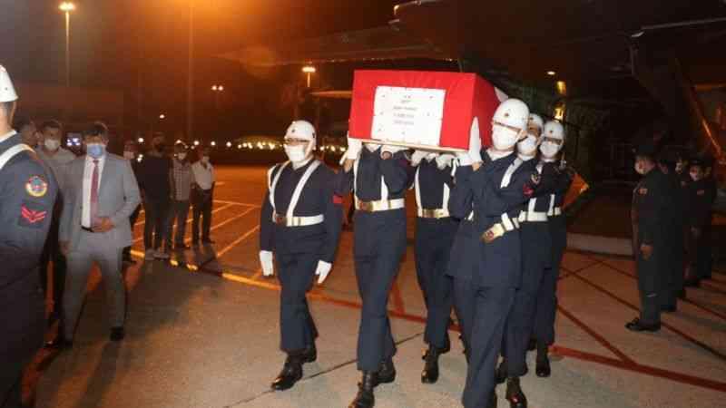 Jandarma Uzman Çavuş Sami Yılmaz'ın cenazesi Adana'ya getirildi - Haberma -  Haberin Panoraması