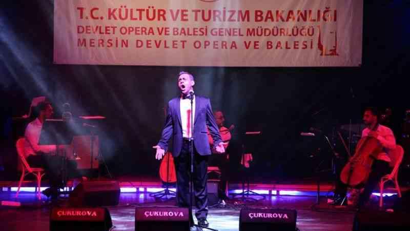 """Mersin Devlet Opera ve Balesi """"Trio Konser"""" ile sanatseverlerle buluştu"""