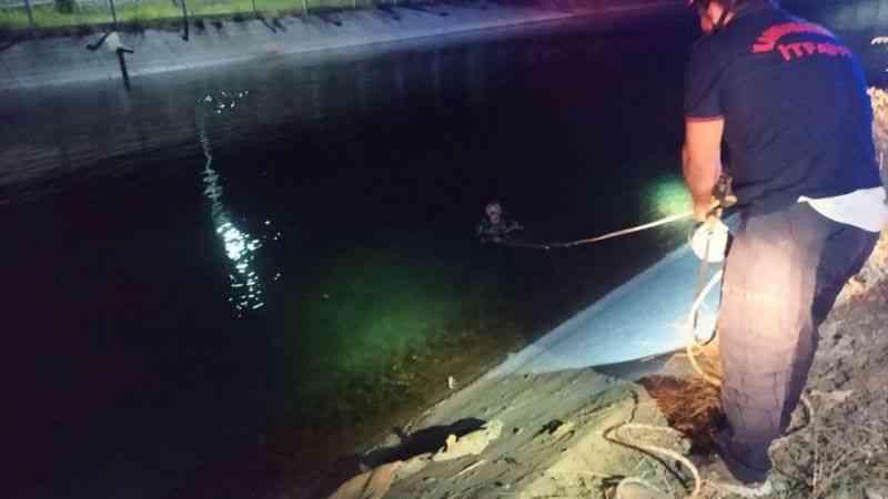 Kahramanmaraş'ta su kanalına düşen otomobildeki kadın öldü