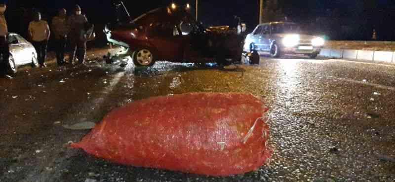 Kahramanmaraş'ta zincirleme trafik kazası: 1 ölü, 1 yaralı