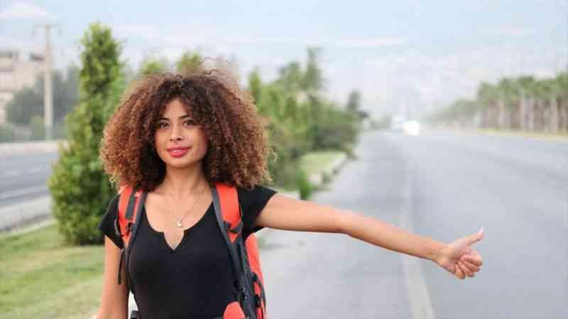 Gezgin Rabia yarıda kalan hayalini Kovid-19'un bitmesiyle tamamlamak istiyor
