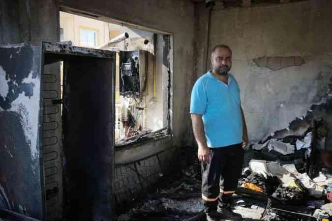 Hatay'daki yangından etkilenen vatandaşlar yaşadıklarını anlattı