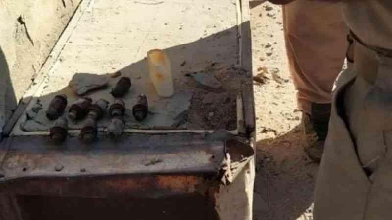 Haşdi Şabi Başkan Yardımcısı el-Mühendis'in mezarının yanında patlayıcı bulundu