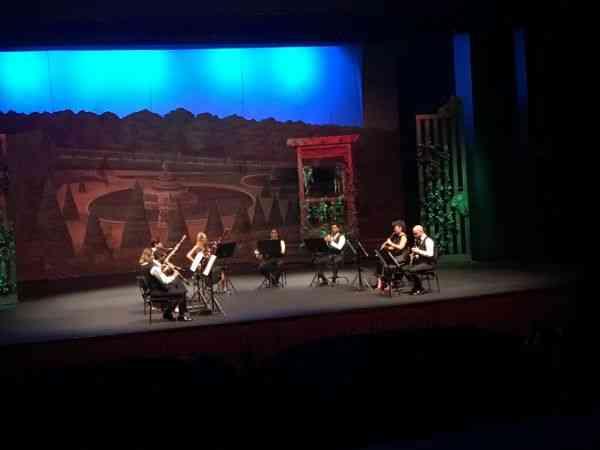 """Antalya Devlet Opera ve Balesi """"Nefesli Serenatlar"""" konseri verdi"""