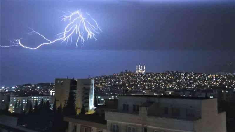 Günün fotoğrafı Kahramanmaraş'ta çekildi