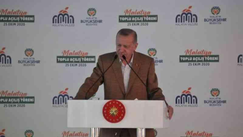 "Cumhurbaşkanı Erdoğan: ""Ülkemiz aktif fay hattında"""
