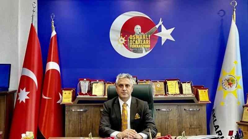 Osmanlı Ocakları Genel Başkanı Canpolat'tan İYİ Partili Ümit Özdağ'a destek