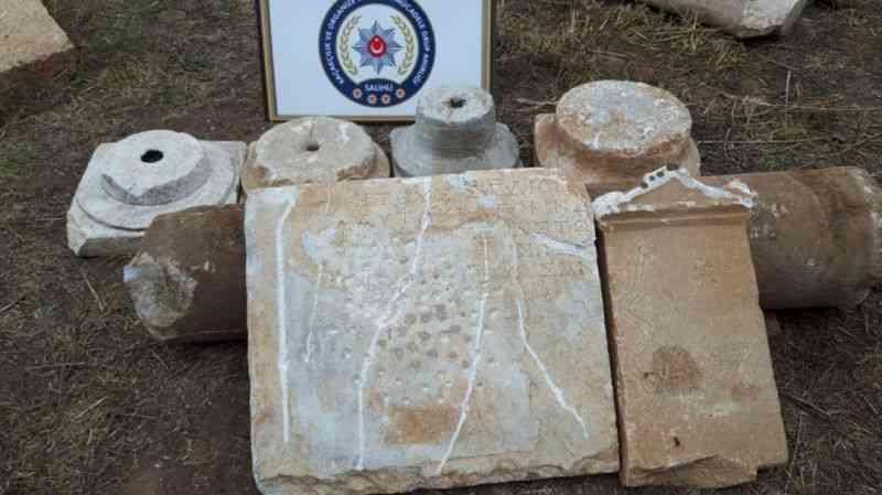 Roma ve Bizans dönemine ait eserler ele geçirildi