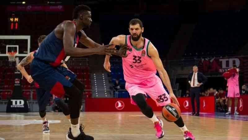 THY Euroleague'de 6. haftanın MVP'leri Marius Grigonis ve Nikola Mirotic