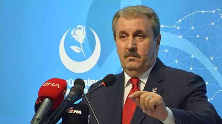 Destici: ''Meral Akşener eğer HDP'yi PKK'nın yanında konumlandırıyorsa...''