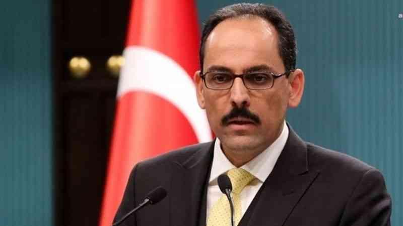 Cumhurbaşkanlığı Sözcüsü Kalın'dan AA muhabiri açıklaması