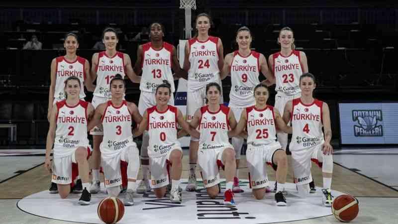 A Milli Kadın Basketbol Takımı, hazırlık maçında Belarus karşısında galip