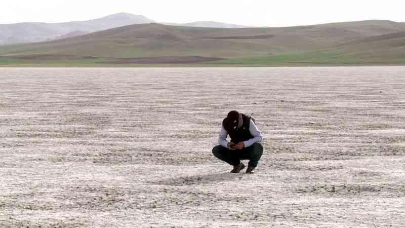 Van'ın kuş cenneti Akgöl, kurudu