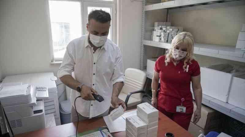 Ankara Şehir Hastanesi'nde, Biontech aşısında sıfır ziyan