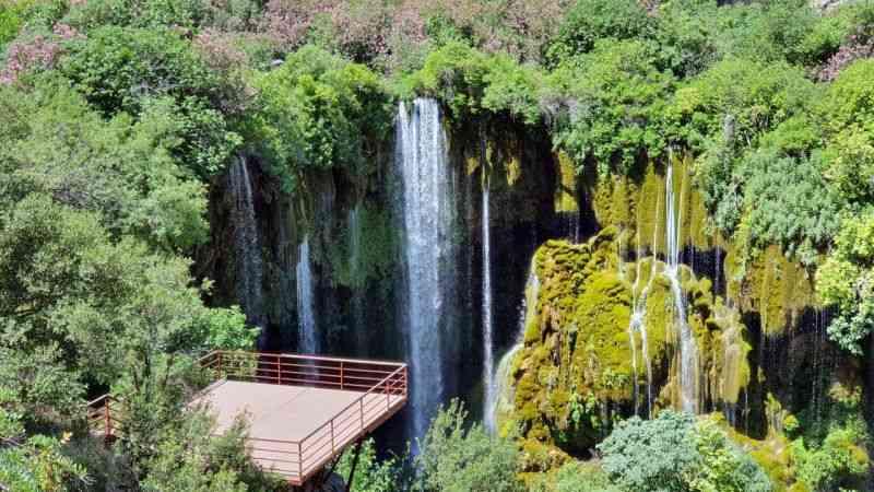 Mersin'in saklı cenneti: Yerköprü Şelalesi
