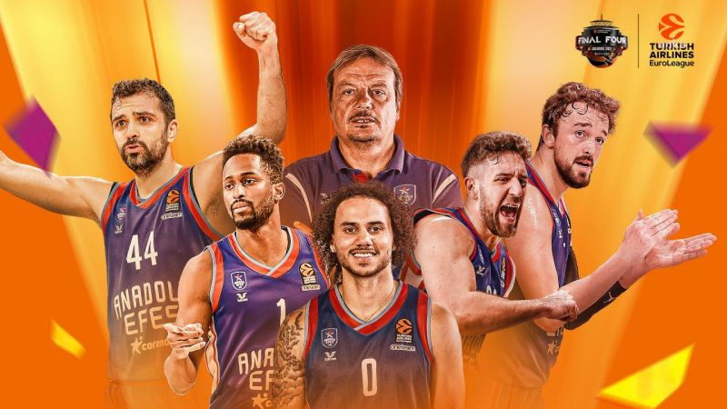Anadolu Efes, Euroleague şampiyonu oldu