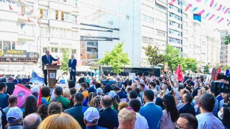 İstanbul - Muharrem İnce partisinin İstanbul il binasının açılışını yaptı