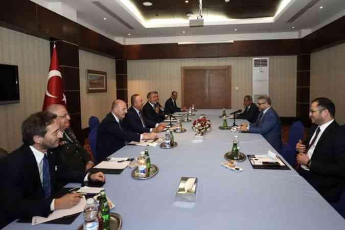 Altun: Libya'nın birliği, barış ve huzuru için görüşmeler yaptık