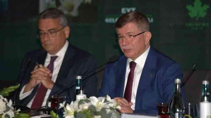 Davutoğlu: ''Yolsuzluk ekonomisinin büyüklüğü Türkiye bütçesinin üzerinde''