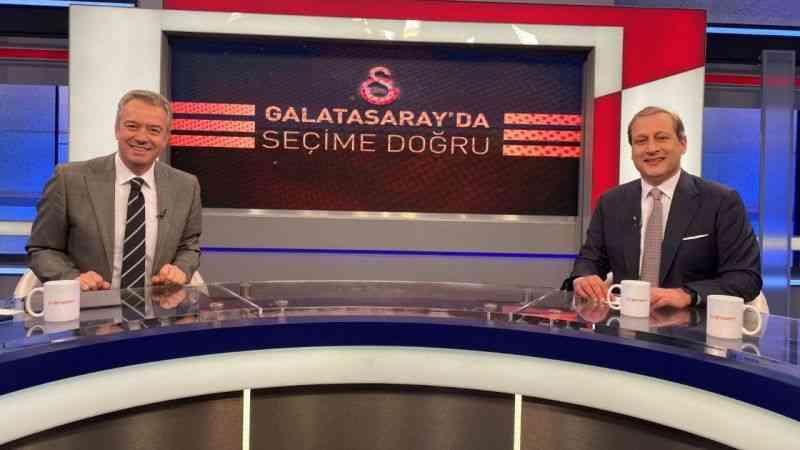 Burak Elmas: ''Galatasaray'ın kanalları ve mecraları satılık değildir''
