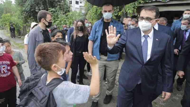 Enerji ve Tabii Kaynaklar Bakanı Fatih Dönmez Sinop'ta