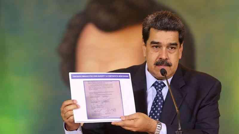 """Venezuela Devlet Başkanı Maduro'dan """"ABD ile ilişkileri normalleştirme"""" çağrısı"""