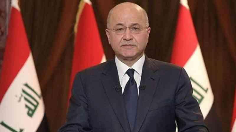 """Irak Cumhurbaşkanı Salih, ekimdeki erken genel seçimlerin """"daha güvenli bir ortamda"""" yapılacağını belirtti"""