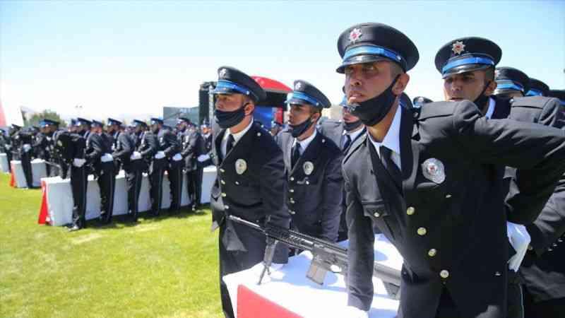 Polis Akademisi Malatya POMEM 26. Dönem Mezuniyet Töreni