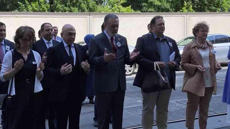 Viyana'da ASALA terör örgütü tarafından şehit edilen Çalışma Müşaviri Erdoğan Özen anıldı