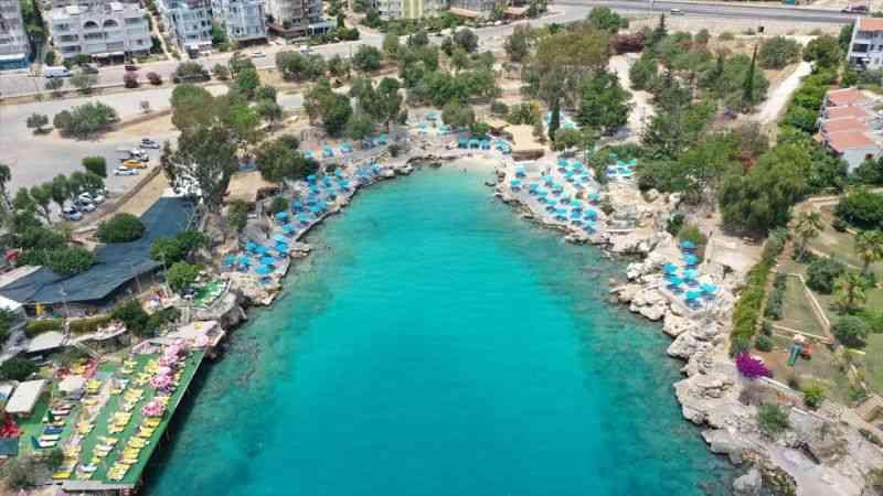 Mersin'deki plajlar turizm sezonuna hazırlandı