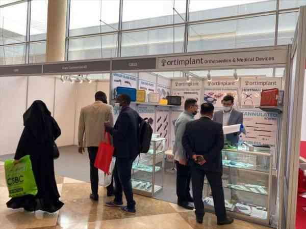 46. Uluslararası Sağlık Fuarı'na katılan Türk firmalar normalleşmeden memnun