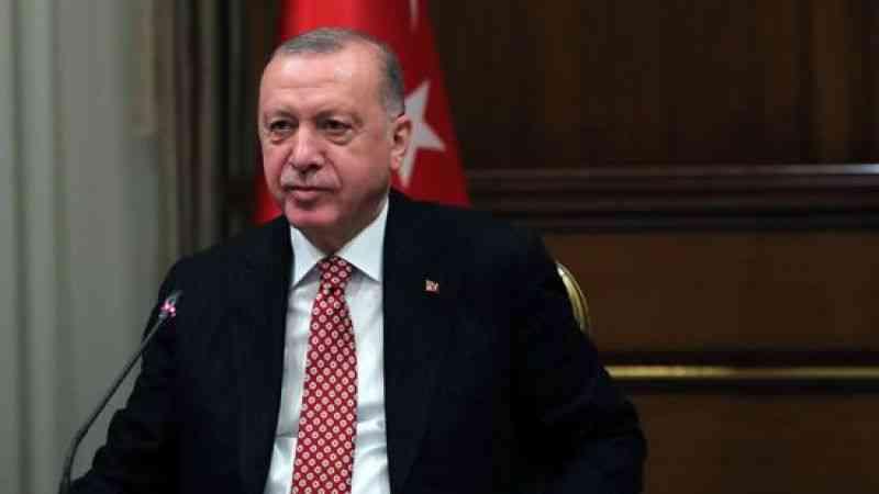 """Cumhurbaşkanı Erdoğan, yerli Kovid-19 aşısının adının """"TURKOVAC"""" olduğunu açıkladı"""