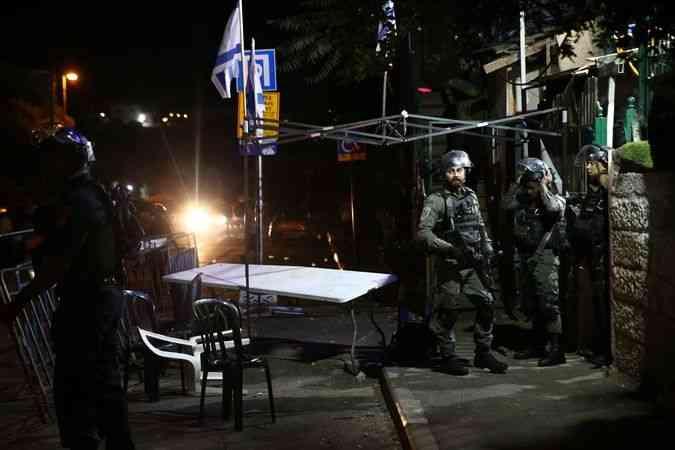 Şeyh Cerrah'ta Filistinliler ile Yahudi yerleşimciler arasında kavga çıktı